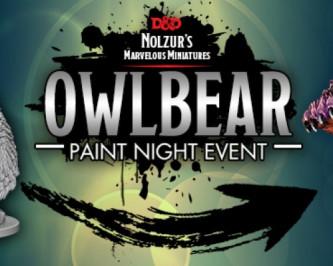 Owlbear Paint Night