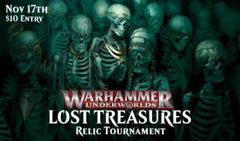 Underworlds: Lost Treasures Tournament