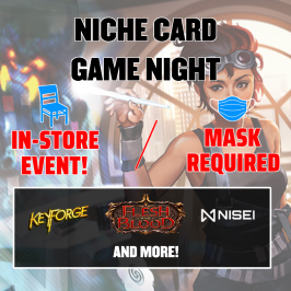 Niche Card Game Night