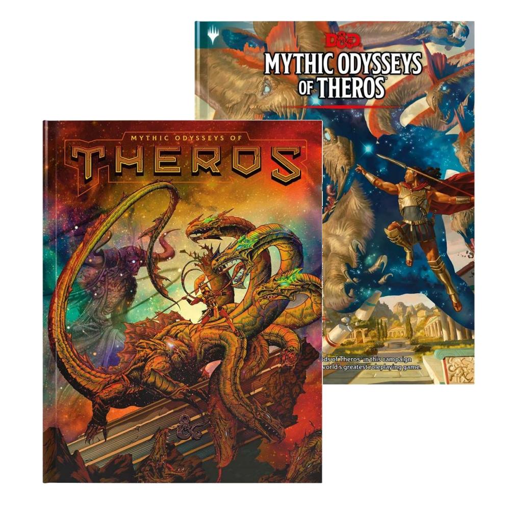 DnD Mythic Odysseys of Theros
